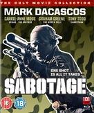 Sabotage - British Movie Cover (xs thumbnail)