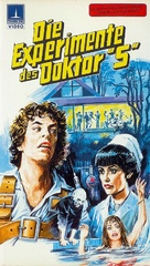 Strange Behavior - German VHS movie cover (xs thumbnail)