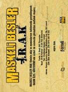 Maskeli besler: Irak - Turkish poster (xs thumbnail)