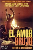 Amor brujo, El - Spanish Movie Cover (xs thumbnail)