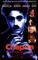 Chaplin - German Movie Cover (xs thumbnail)