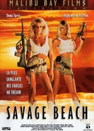 Savage Beach - French DVD cover (xs thumbnail)