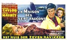 The House of the Seven Hawks - Belgian Movie Poster (xs thumbnail)