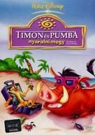 """""""Timon & Pumbaa"""" - Hungarian DVD cover (xs thumbnail)"""