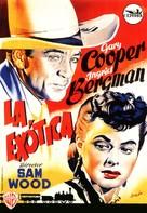 Saratoga Trunk - Spanish Movie Poster (xs thumbnail)