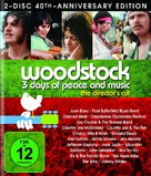 Woodstock - German Movie Cover (xs thumbnail)