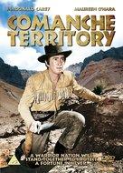 Comanche Territory - British DVD movie cover (xs thumbnail)