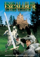 Excalibur - Czech DVD movie cover (xs thumbnail)