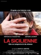La siciliana ribelle - French Movie Poster (xs thumbnail)