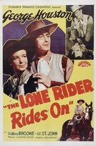 The Lone Rider Rides On - Movie Poster (xs thumbnail)
