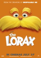 The Lorax - British Movie Poster (xs thumbnail)