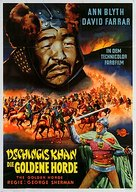 The Golden Horde - German Movie Poster (xs thumbnail)
