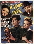 Le jour se lève - French Movie Poster (xs thumbnail)