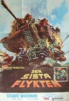 The Last Escape - Swedish Movie Poster (xs thumbnail)