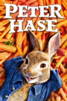 Peter Rabbit - German Movie Cover (xs thumbnail)