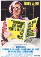 Everything You Always Wanted to Know About Sex * But Were Afraid to Ask - Italian Theatrical movie poster (xs thumbnail)