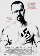 American History X - Spanish Movie Poster (xs thumbnail)