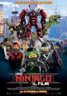 The Lego Ninjago Movie - Italian Movie Poster (xs thumbnail)
