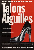 Tacones lejanos - French Movie Poster (xs thumbnail)