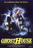 La casa 3 - Ghosthouse - German Movie Poster (xs thumbnail)