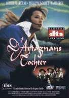 La fille de d'Artagnan - German DVD cover (xs thumbnail)