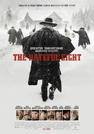 The Hateful Eight - Finnish Movie Poster (xs thumbnail)