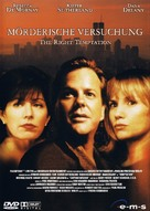 The Right Temptation - German DVD cover (xs thumbnail)