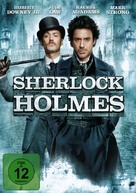 Sherlock Holmes - German DVD cover (xs thumbnail)