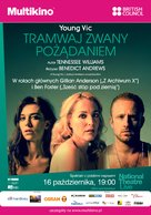 National Theatre Live: A Streetcar Named Desire - Polish Movie Poster (xs thumbnail)