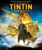 The Adventures of Tintin: The Secret of the Unicorn - Spanish Movie Cover (xs thumbnail)