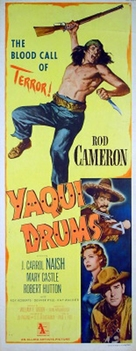 Yaqui Drums - Movie Poster (xs thumbnail)