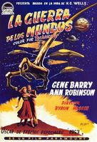 The War of the Worlds - Spanish Movie Poster (xs thumbnail)
