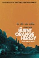 The Burnt Orange Heresy - British Movie Poster (xs thumbnail)