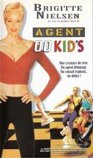 The Double 0 Kid - French VHS movie cover (xs thumbnail)