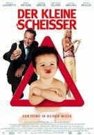 Mauvais esprit - German Movie Poster (xs thumbnail)