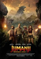 Jumanji: Welcome to the Jungle - Spanish Movie Poster (xs thumbnail)