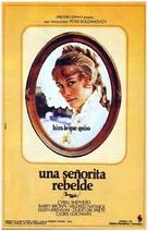 Daisy Miller - Spanish Movie Poster (xs thumbnail)