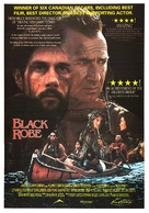 Black Robe - Canadian Movie Poster (xs thumbnail)