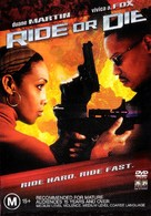 Ride Or Die - Australian DVD cover (xs thumbnail)