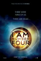 I Am Number Four - Movie Poster (xs thumbnail)