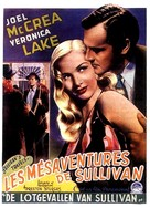 Sullivan's Travels - Belgian Movie Poster (xs thumbnail)