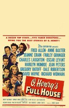 O. Henry's Full House - Theatrical poster (xs thumbnail)
