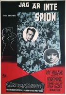 Three Brave Men - Swedish Movie Poster (xs thumbnail)