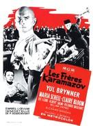 The Brothers Karamazov - French Movie Poster (xs thumbnail)