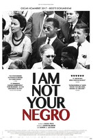 I Am Not Your Negro - Danish Movie Poster (xs thumbnail)