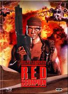 Red Scorpion - Austrian Blu-Ray movie cover (xs thumbnail)