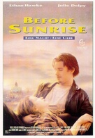 Before Sunrise - German Movie Poster (xs thumbnail)