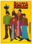 Yellow Submarine - Czech Movie Poster (xs thumbnail)