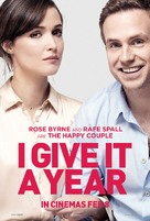 I Give It a Year - British Movie Poster (xs thumbnail)