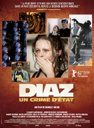 Diaz: Don't Clean Up This Blood - French Movie Poster (xs thumbnail)